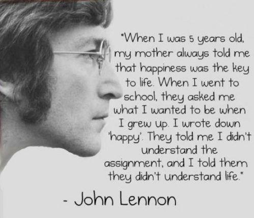 Citat av John Lennon