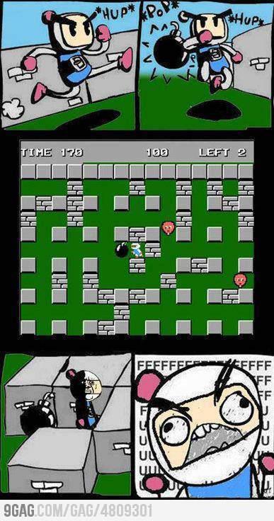 Bomberman fail