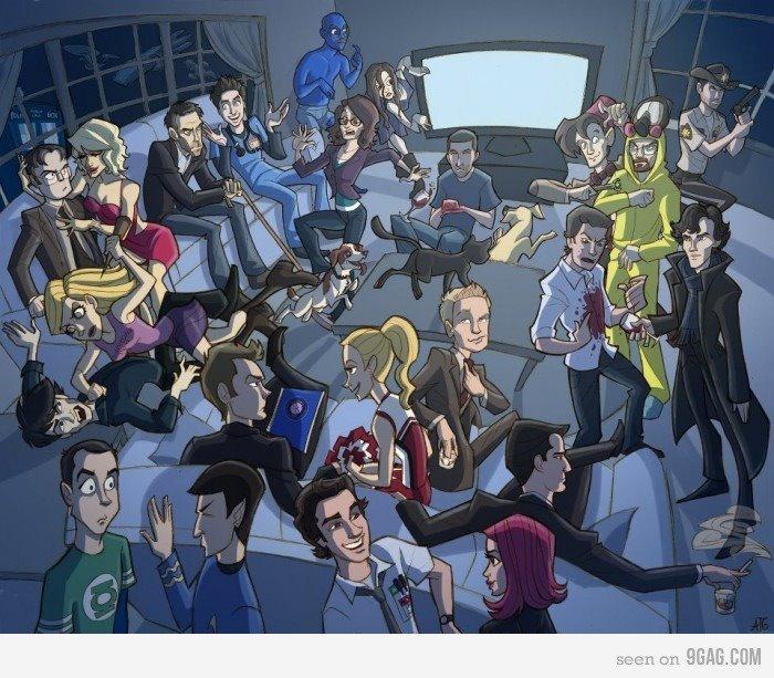 Kan du gissa vilka alla är?