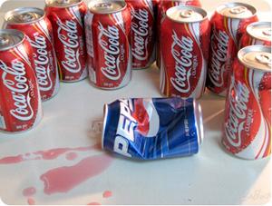 Pepsi får stryk av Coca Cola