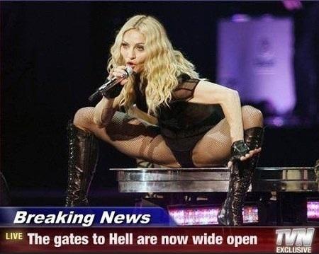 Madonna i hetluften igen