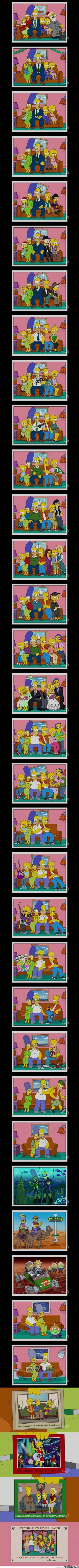 Simpson timeline