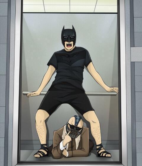 Opa Batman Style