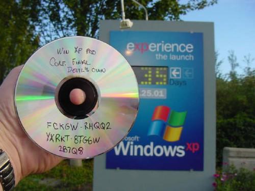 Windows XP pre release