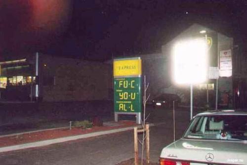 Roliga bensinpriser