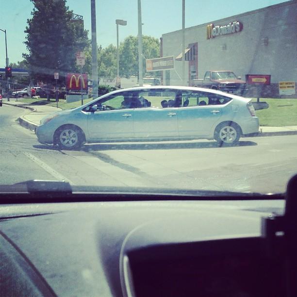 Extra stor Prius
