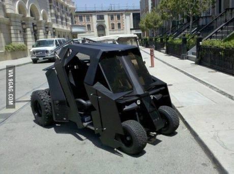 Batmans golfbil
