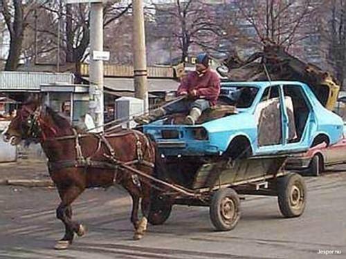 Bil med 1 hästkraft