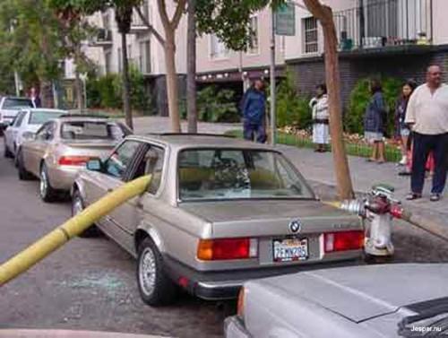 Så kan det gå om man parkerar fel