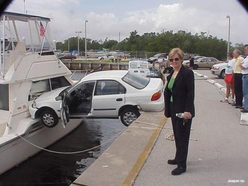 Snygg parkering