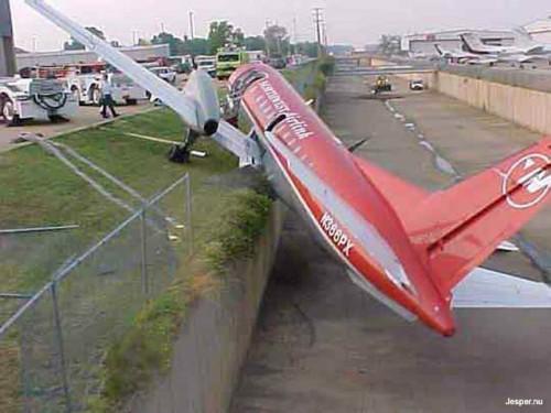 Snygg landning
