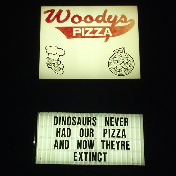 Man borde äta den pizzan