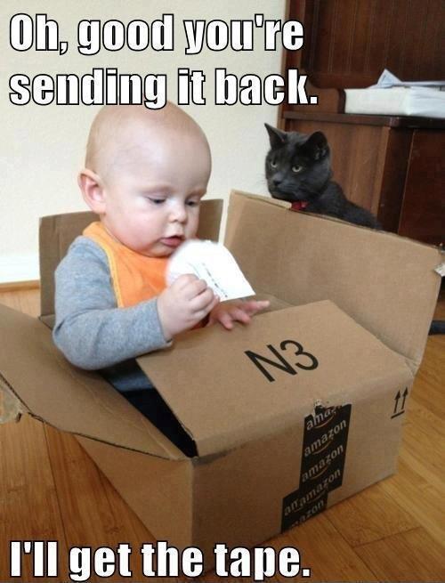 Bra, ni skickar tillbaka den.