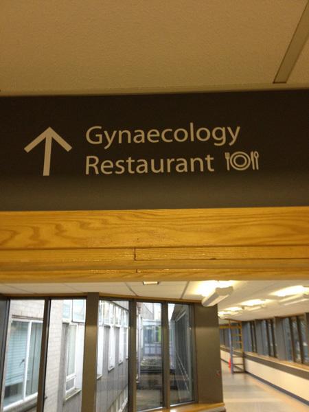 Jag hade nog inte valt att äta där