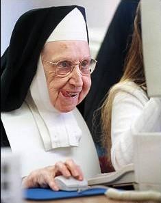 Snygg nunna