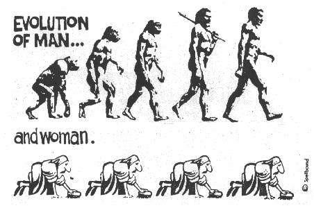 Evolution för kvinnor och män