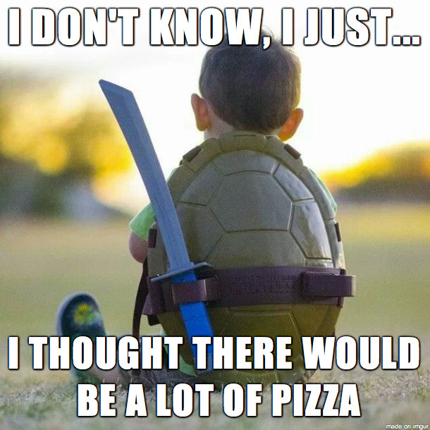 Troubled Turtle Kid
