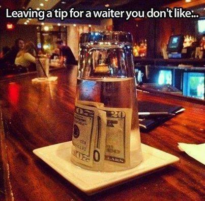 Tips i baren