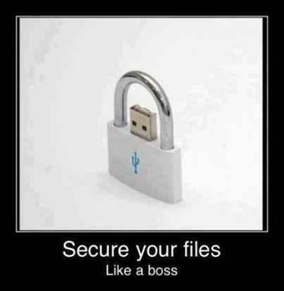 Smart sätt att skydda filer