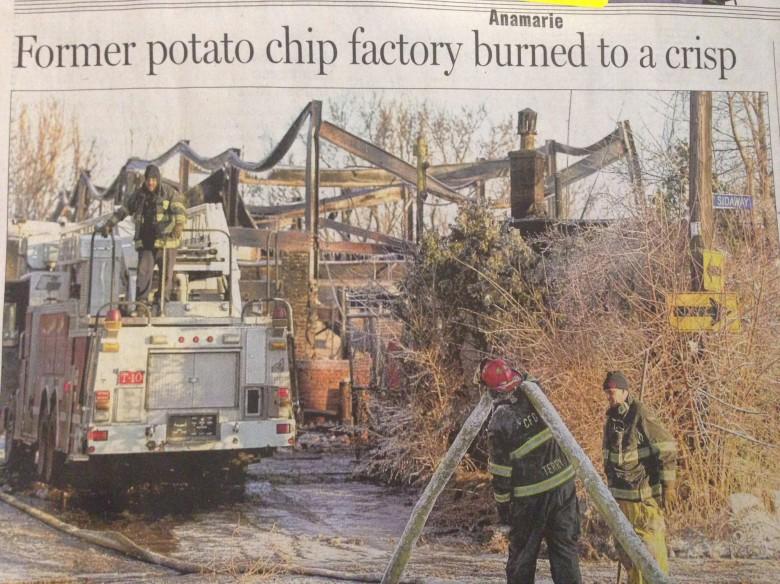 Intressant headline
