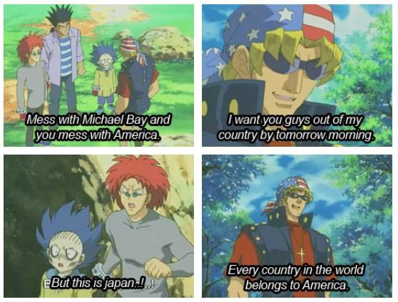 Hur japan ser amerikaner