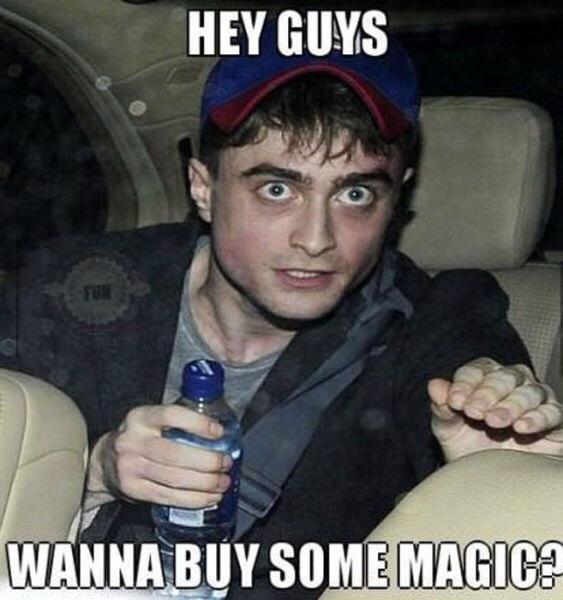 Wanna buy some magic
