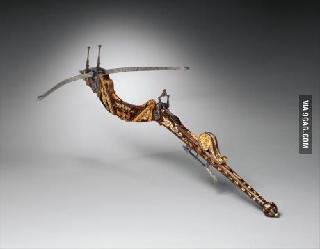 Italiensk armborts från 1573