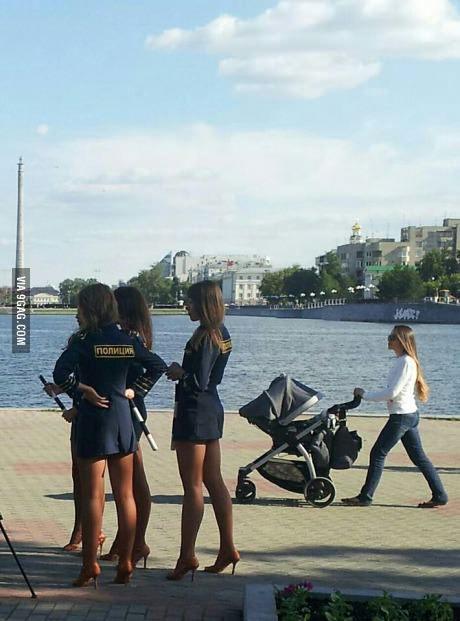 Rysk polis i Ekaterinburg