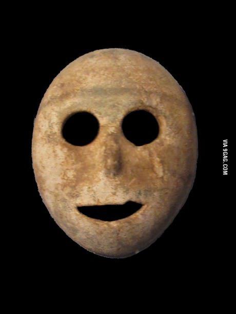Världens äldsta mask