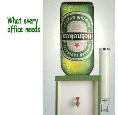 Vad som behövs på alla kontor.