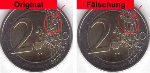 Euromynten är bara för fina