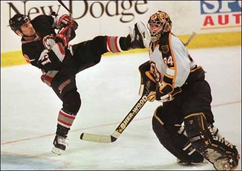 Hockey headshot