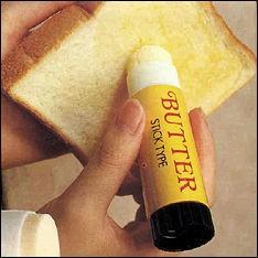 Modern version av smörförpackning