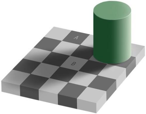 Är det olika färg på A och B, eller är d
