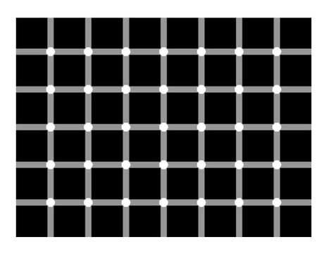 Titta på en prick så byter övriga färg