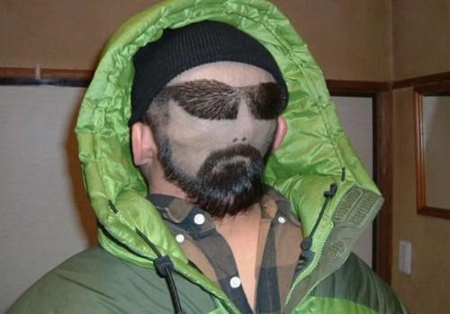 Skön frisyr