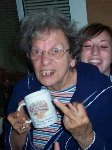 Cool mormor