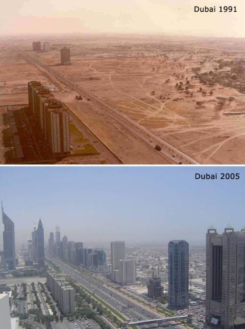 Dubai, då och nu