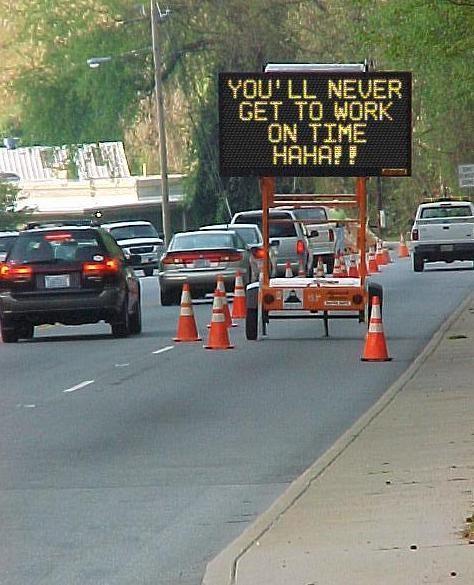 Meddelande till alla bilister