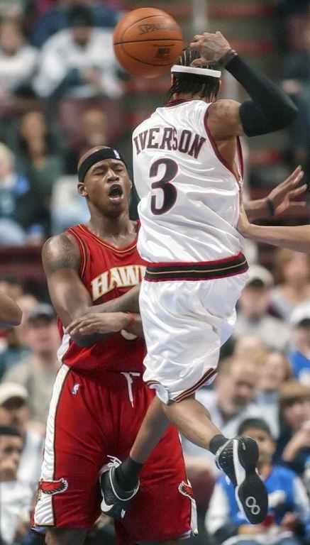 Välriktad spark i basket
