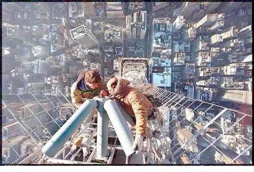Inget för höjdrädda