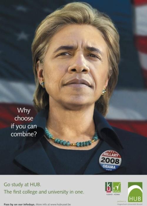 Hillary och Obama, varför välja?