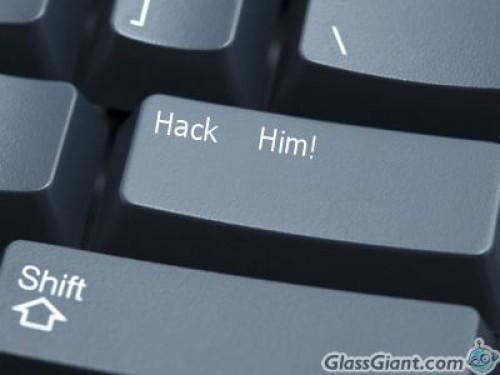 Hack him