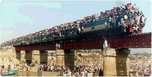 Fullt tåg