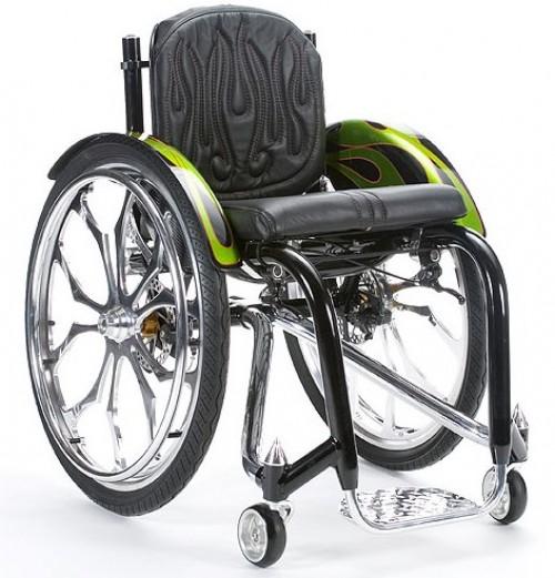 Pimpad rullstol