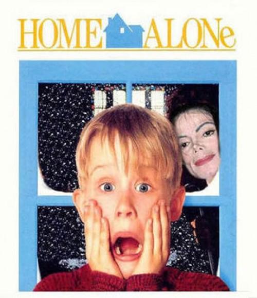 Parodi med Ensam hemma och Michael Jacks