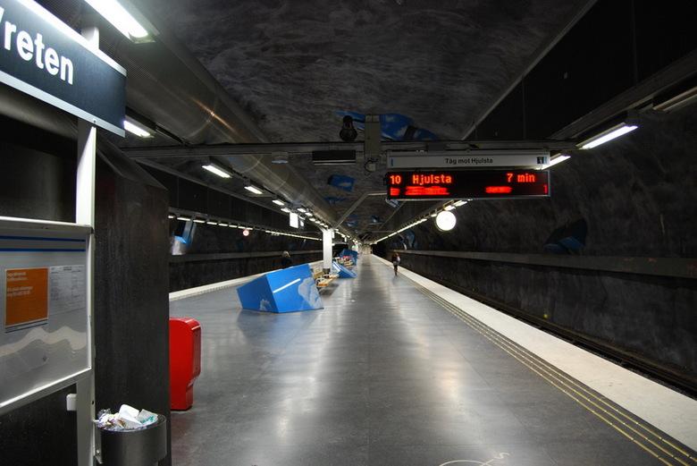 Konst i Stockholms tunnelbana