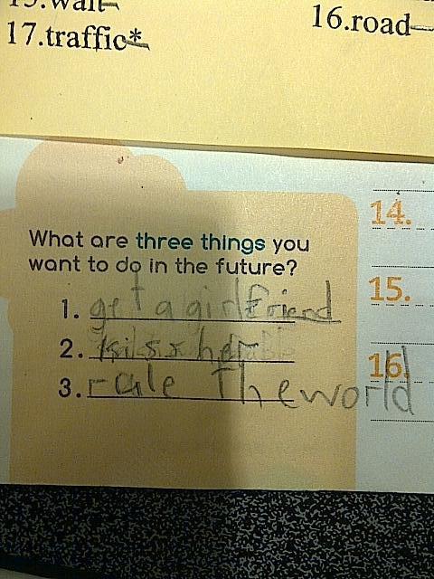 Den här ungen vet vad han ska prioritera