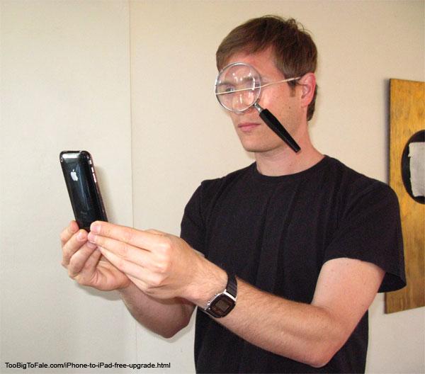 Uppgradera Iphone till Ipad